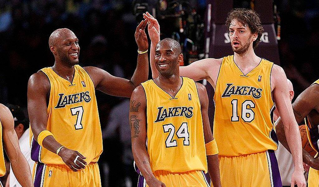 Lakers lamar odom