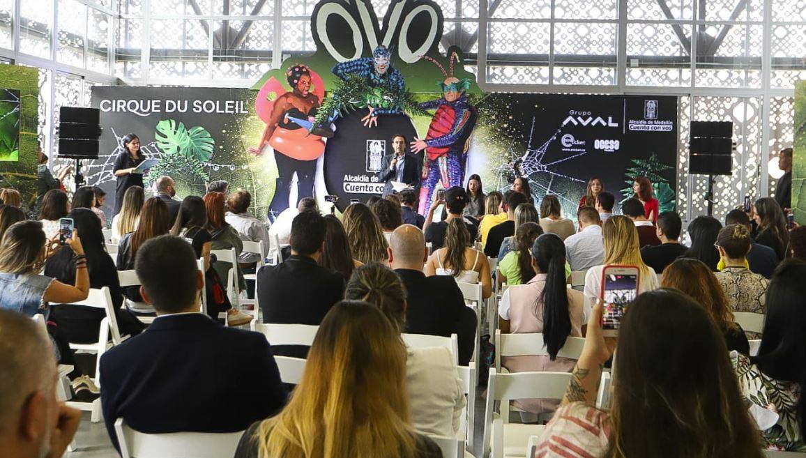 Circo del Sol llegará a Medellín en octubre