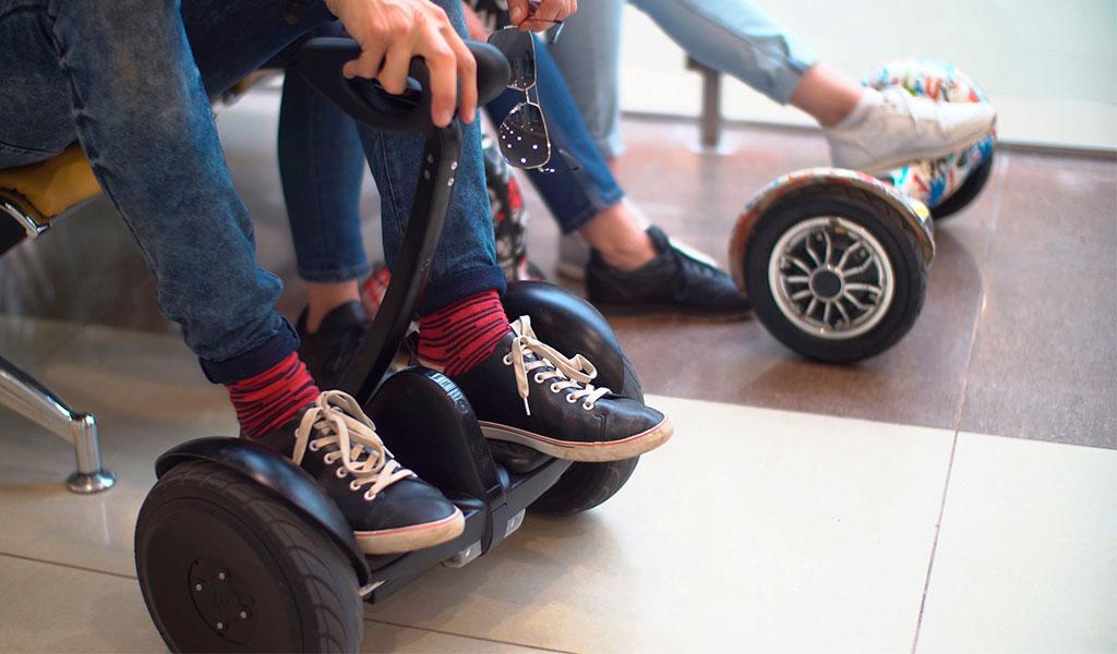 Espacio público puede utilizarse para patinetas eléctricas