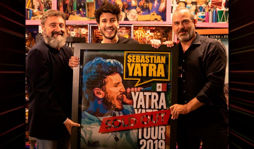 Sebastián Yatra 'Sold Out' en México