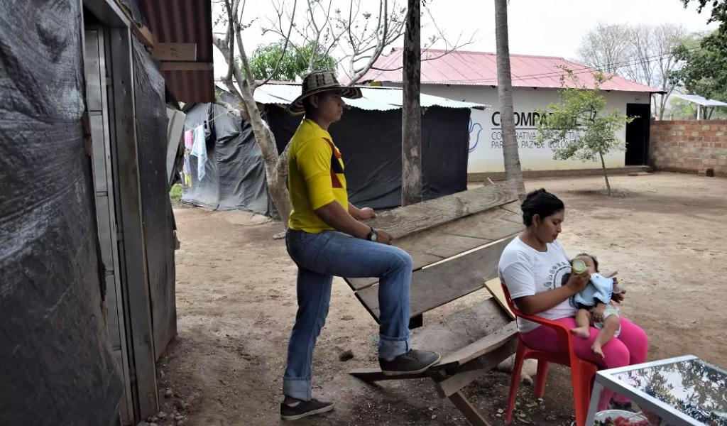 Los niños de la paz en el Caribe colombiano