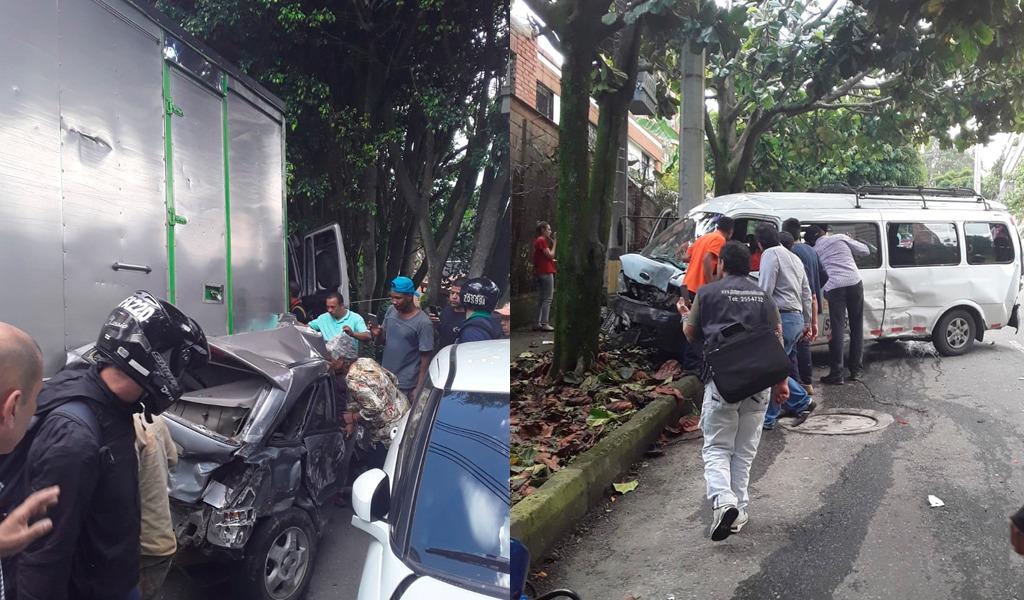 Accidente de tránsito deja un muerto en Medellín