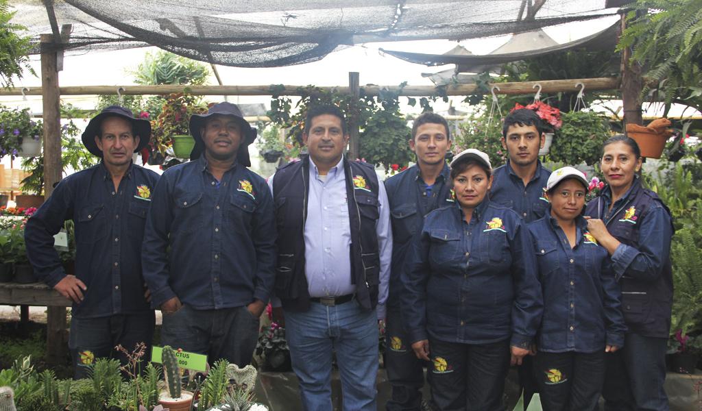 El vivero en Cajicá que le apuesta a la inclusión laboral