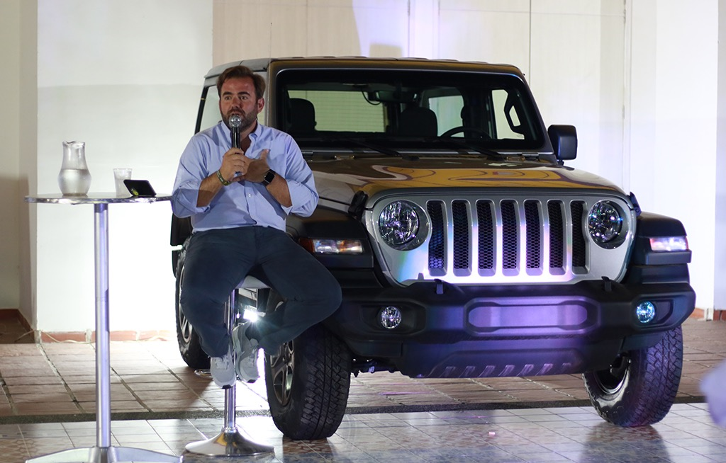 Luis Torres Jeep Colombia