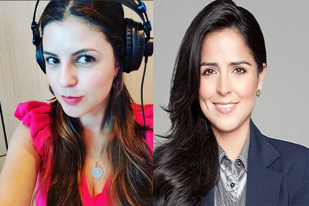 Rifirrafe entre las periodistas Claudia Palacios y Marcela Alarcón
