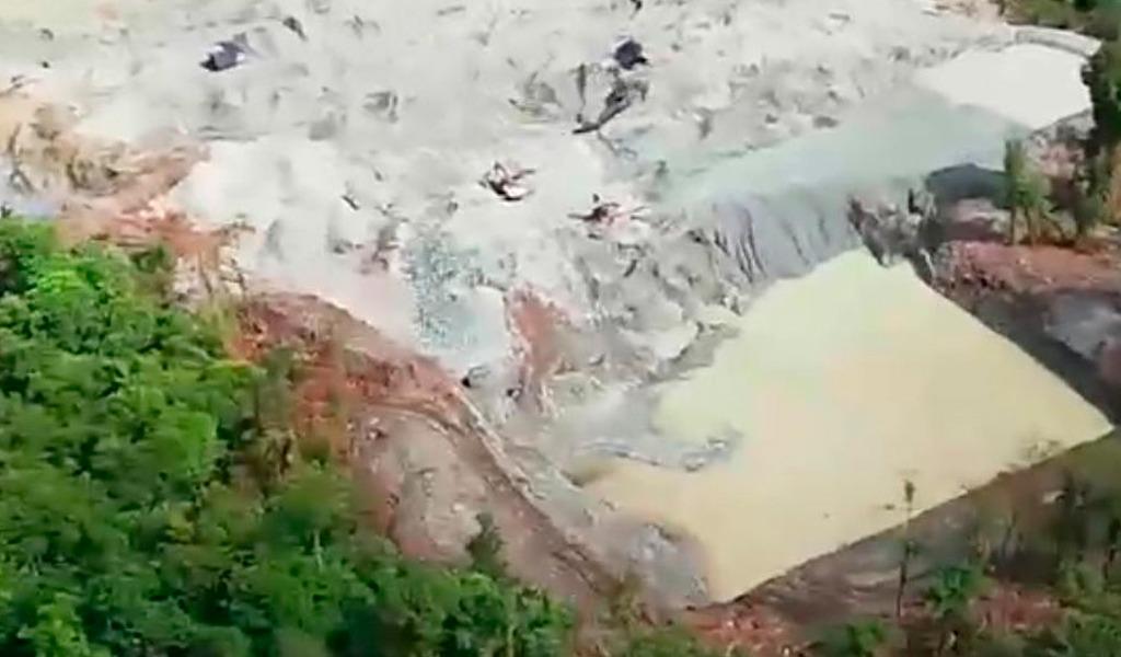 En el Cauca la Fuerza Pública incauta maquinaria para minería ilegal del ELN - kienyke.com