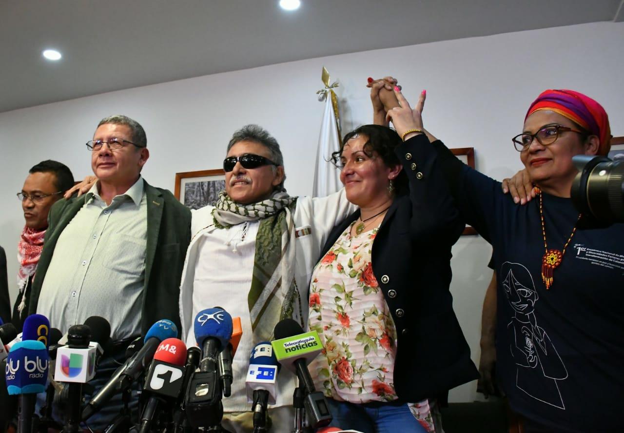 Santrich debe cumplir con el Acuerdo de Paz: Farc