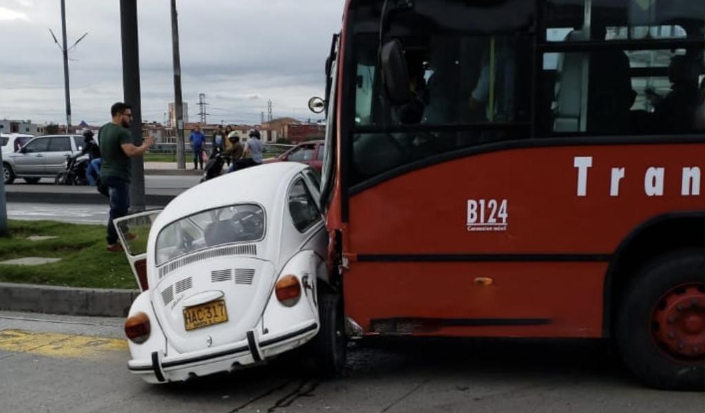 Grave accidente se registra en la Autopista Sur en Bogotá