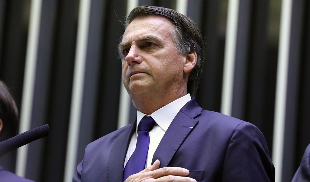 Bolsonaro a explicar autorización para porte de armas