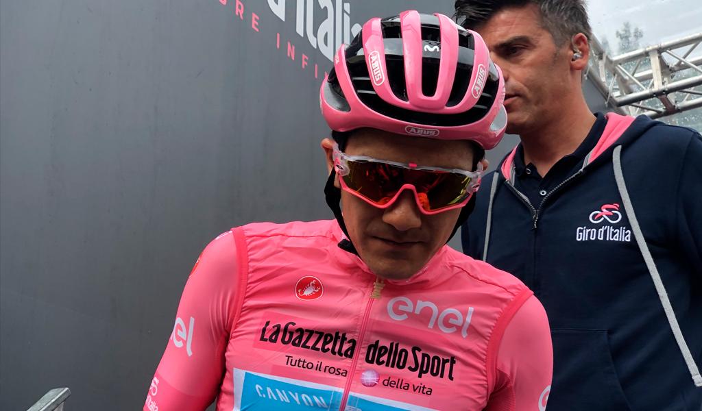 Carapaz aumenta diferencias en el Giro de Italia