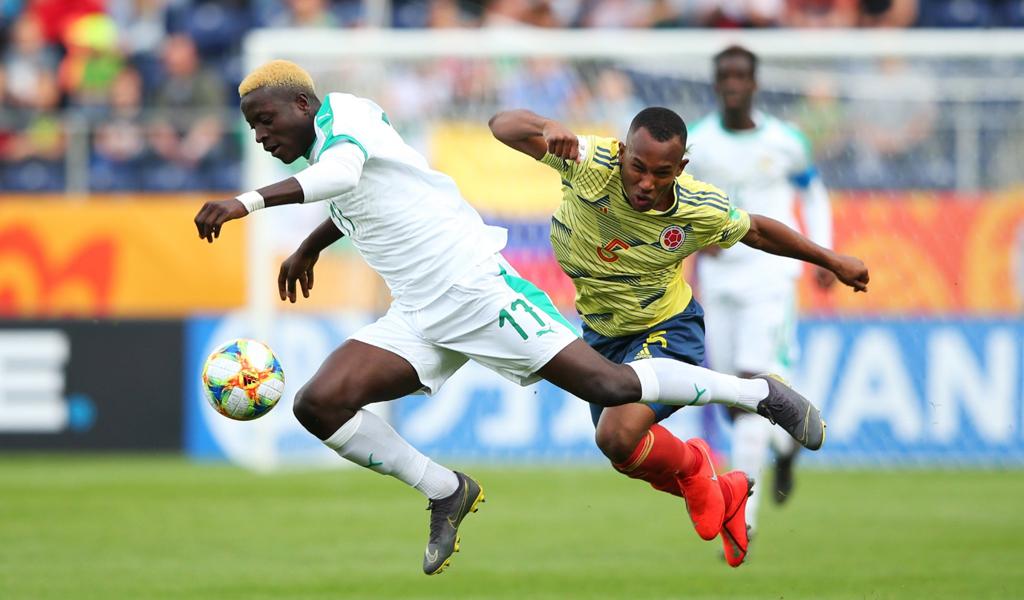 Colombia cayó frente a Senegal