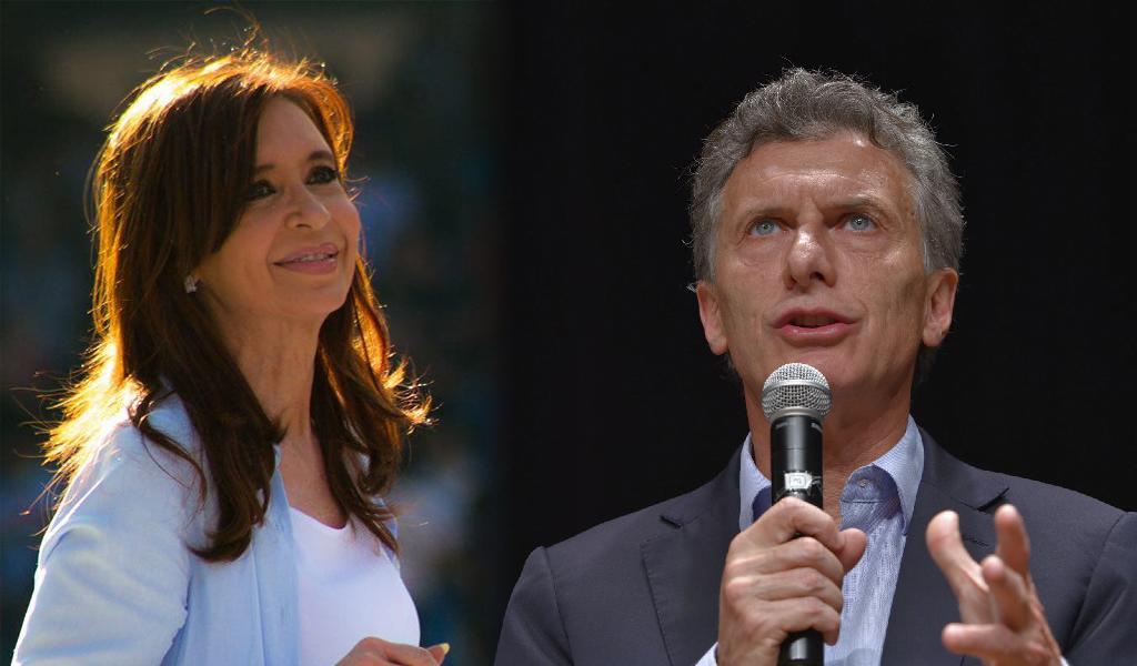 Macri se opone a candidatura de Cristina Fernandéz