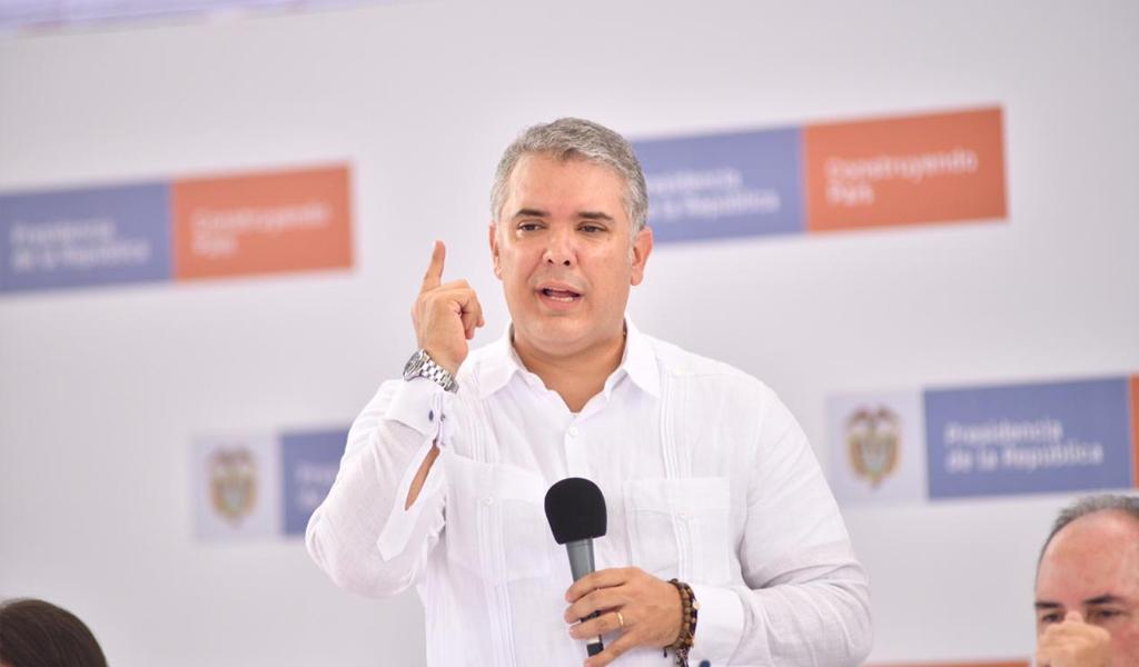 Iván Duque presentará plan de transparencia electoral