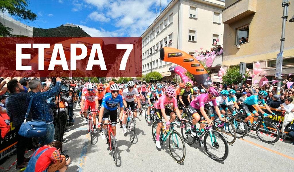 Giro de Italia, Etapa 7