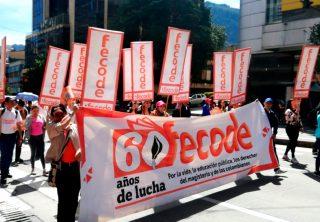 Paro Fecode: Puntos de concentración en Bogotá