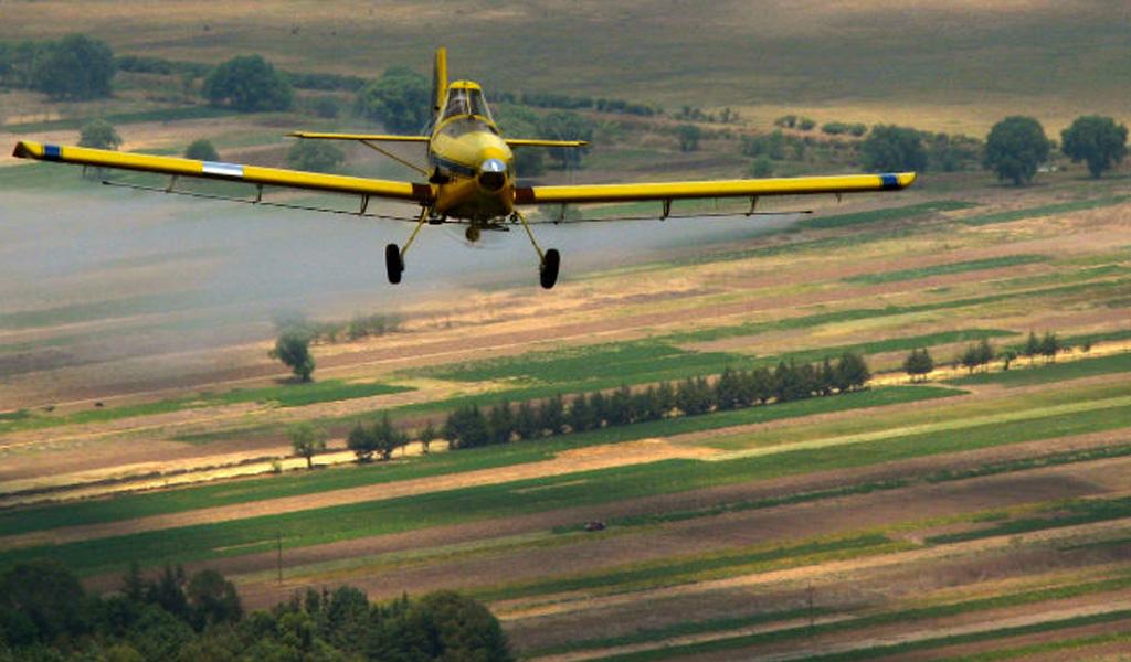 Aviones estarían listos para iniciar fumigación con glifosato
