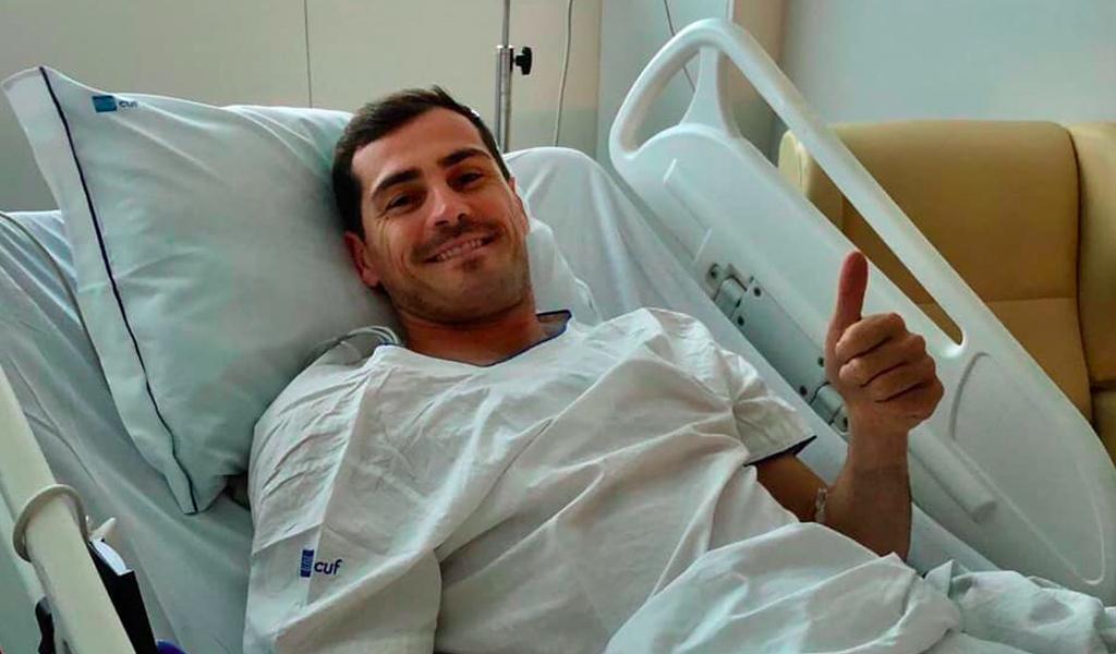 El mensaje de Íker Casillas desde el hospital