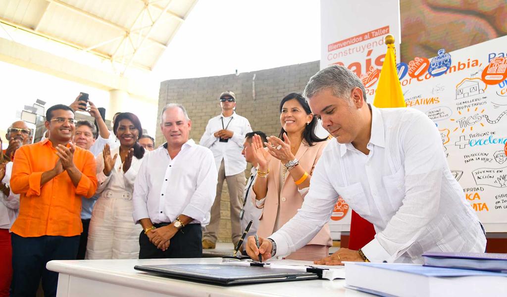 PND, Iván Duque, Plan Nacional de Desarrollo