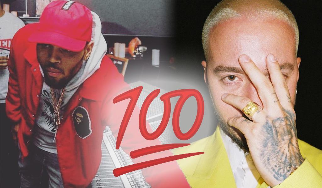 El elogio a Chris Brown por el que critican a J Balvin