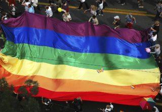 Participación de la población LGBTIQ en el marco de las fiestas de la Independencia de Cartagena de Indias