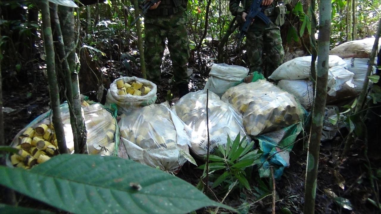 Ejército destruyó 563 minas antipersona en Chocó