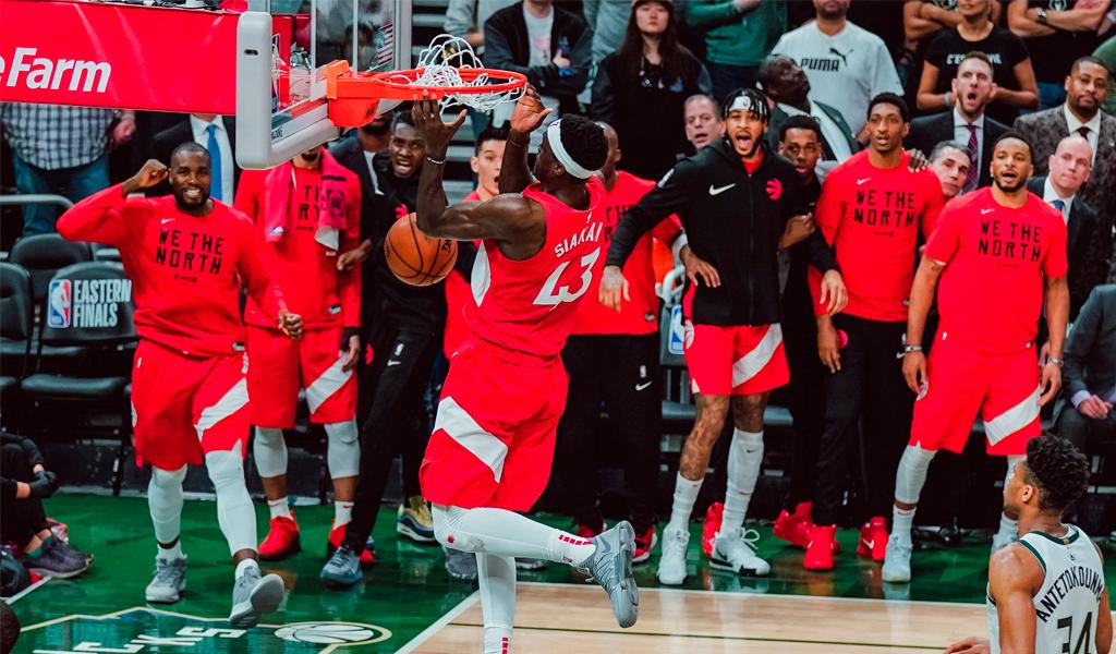 Raptors a una victoria de la final de la NBA