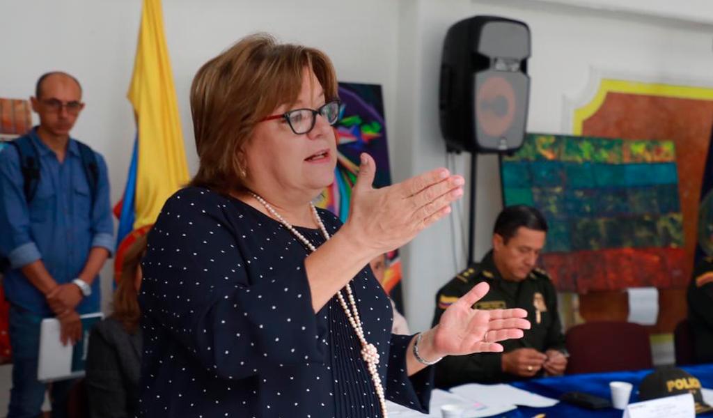 Renunció la ministra de Justicia Gloria María Borrero