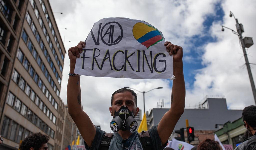 petroleo, marchas, colombia, Consejo de Estado, fracking