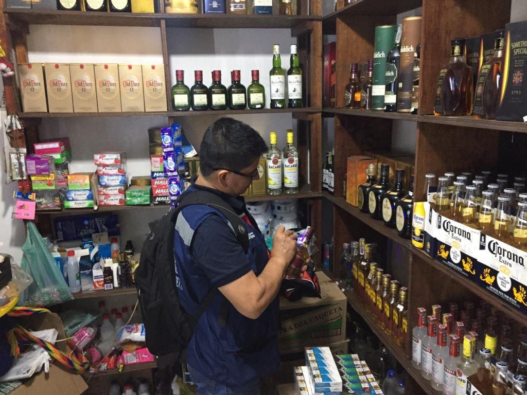 Adelantan operativos en Caquetá para detectar licor adulterado
