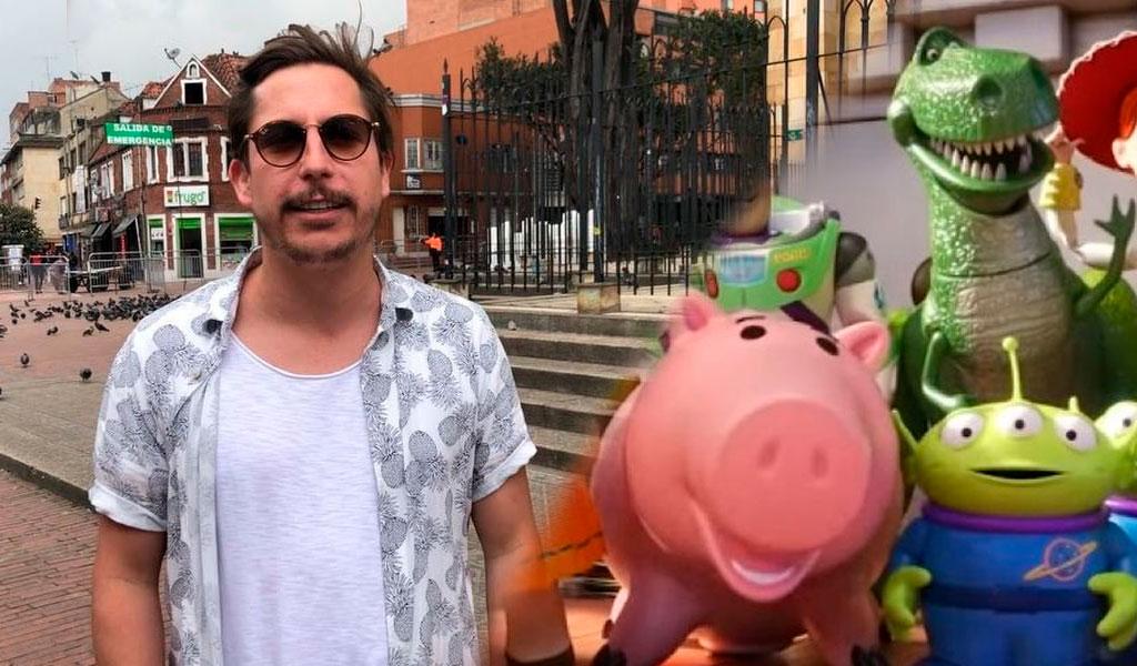 Alejandro Riaño imitó voces de personajes de Toy Story y la 'rompió'