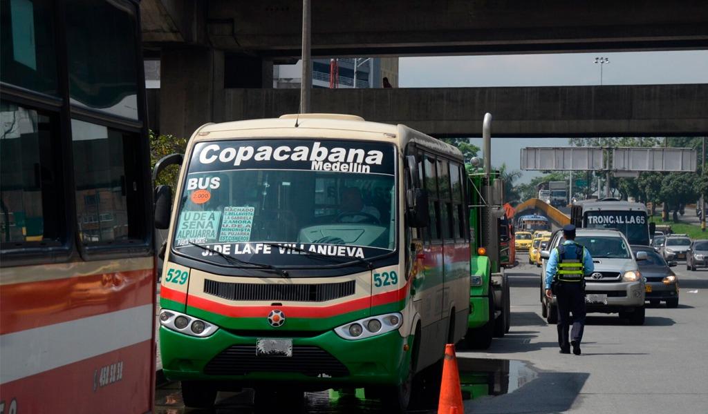 Fallo levanta restricción de buses en Bello