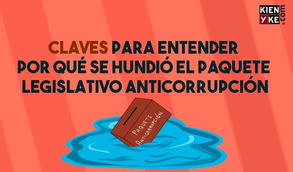 ¿Por qué se hundió el proyecto anticorrupción?