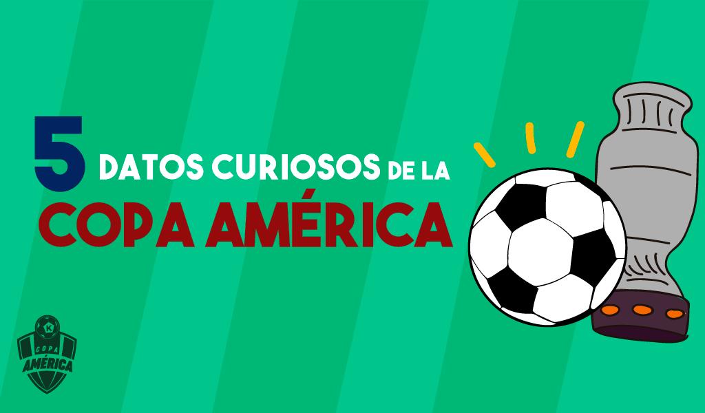 Cinco datos curiosos de la Copa América