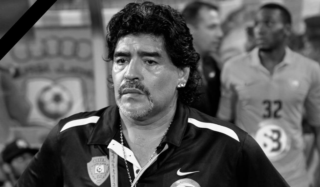 El sí de Maradona a James en el Napoli