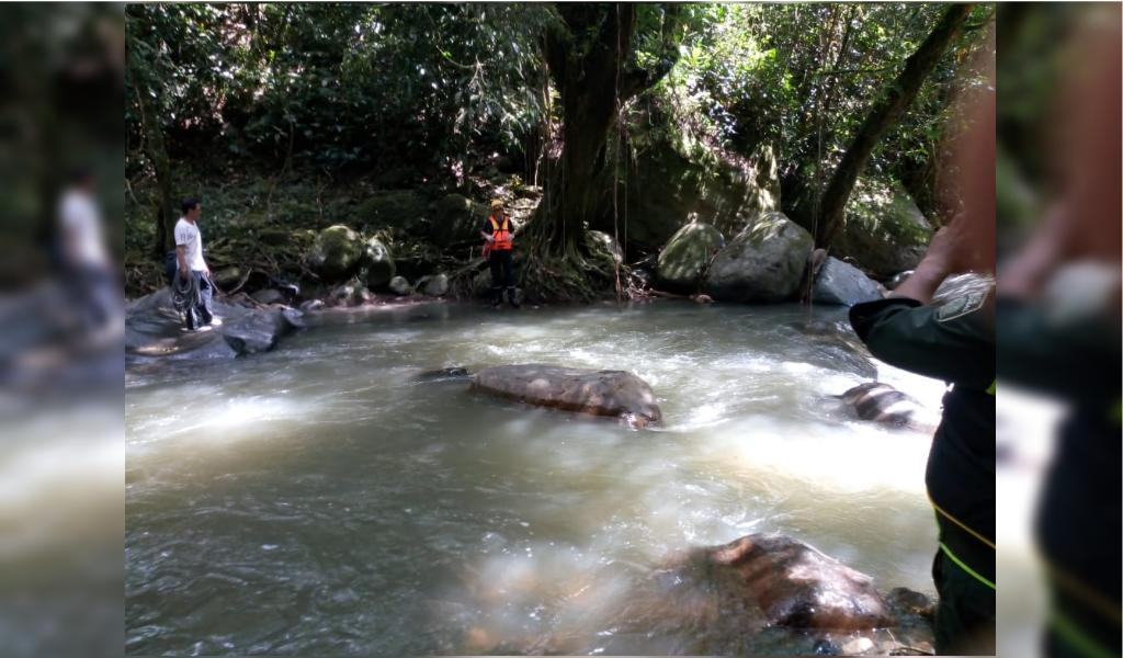 Hallan sin vida a una mujer en el río Dulce de Sasaima