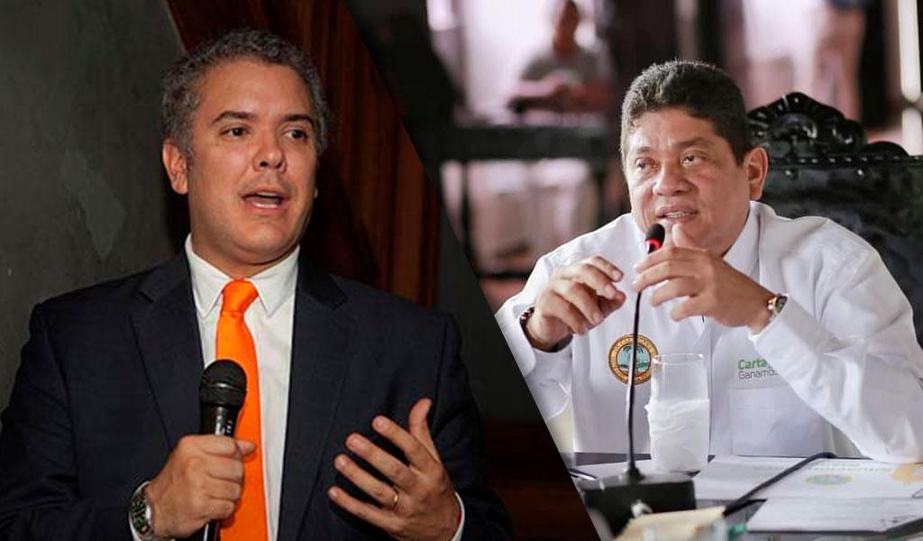 Duque deberá designar nuevo alcalde de Cartagena