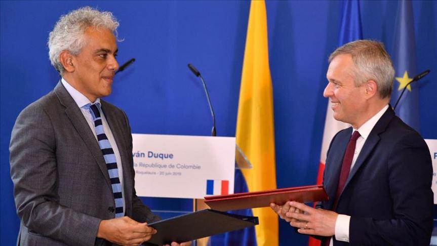 Francia y Colombia de la mano en favor del ambiente