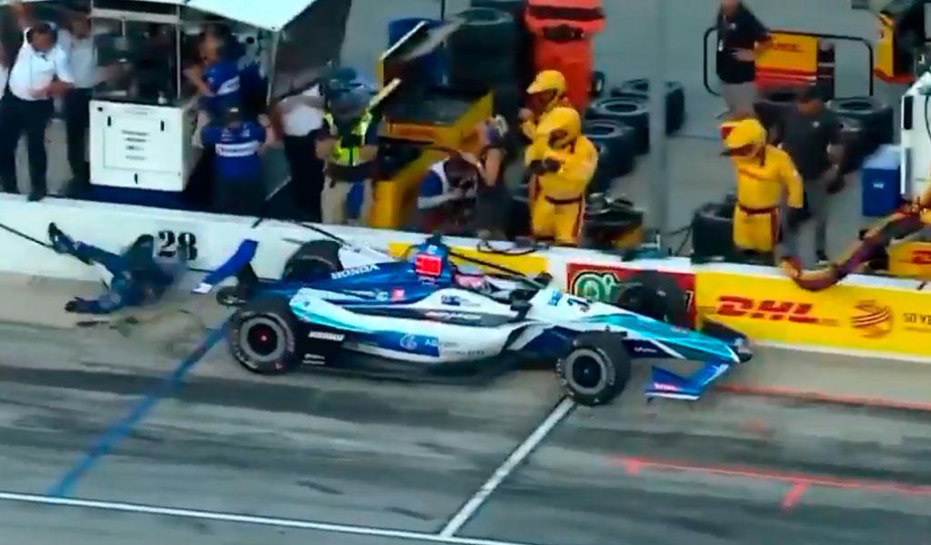 Takuma Sato, IndyCar
