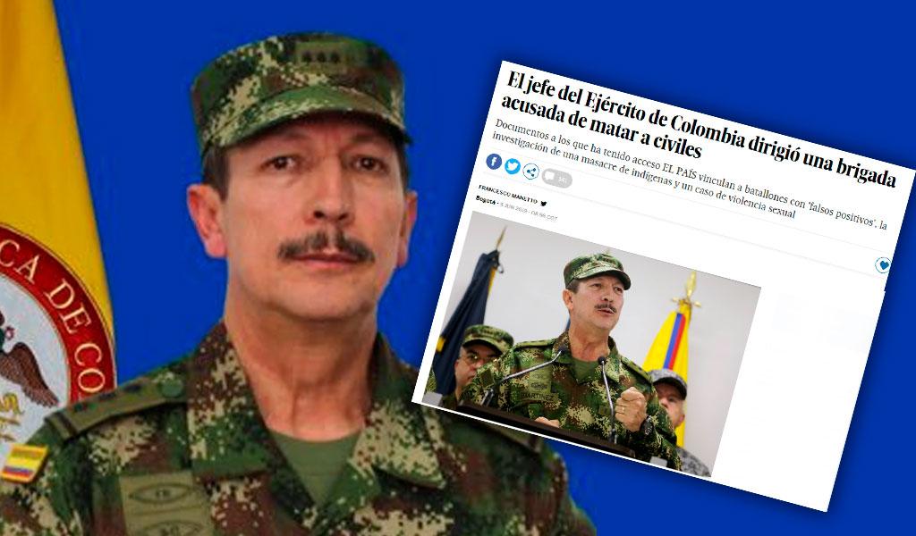 """""""Todo fue información imprecisa"""": Martínez a 'El País'"""