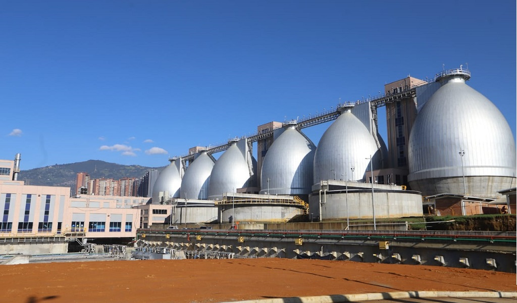 Bello tiene planta de tratamiento de aguas más grande del país