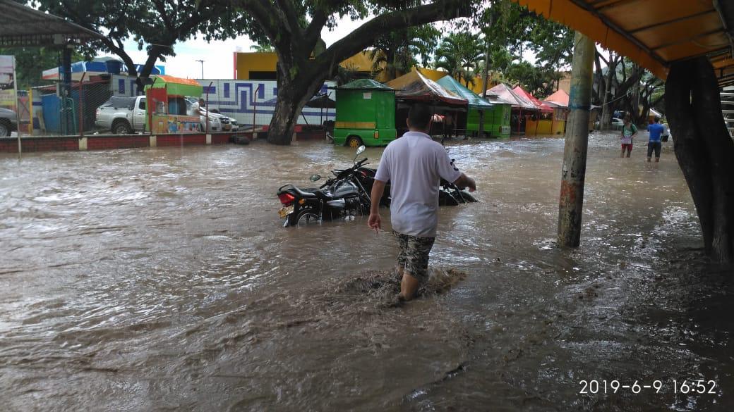40 familias damnificadas por inundaciones en Roldanillo, Valle