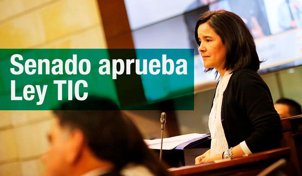 Políticos reaccionan tras aprobación del Senado a Ley TIC