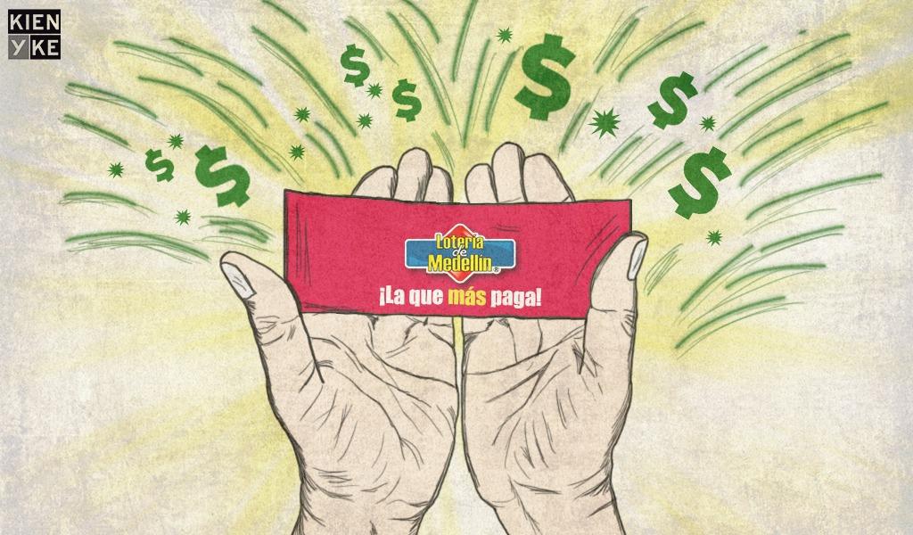 Lotería de Medellín lanzó nuevo billete bifraccional
