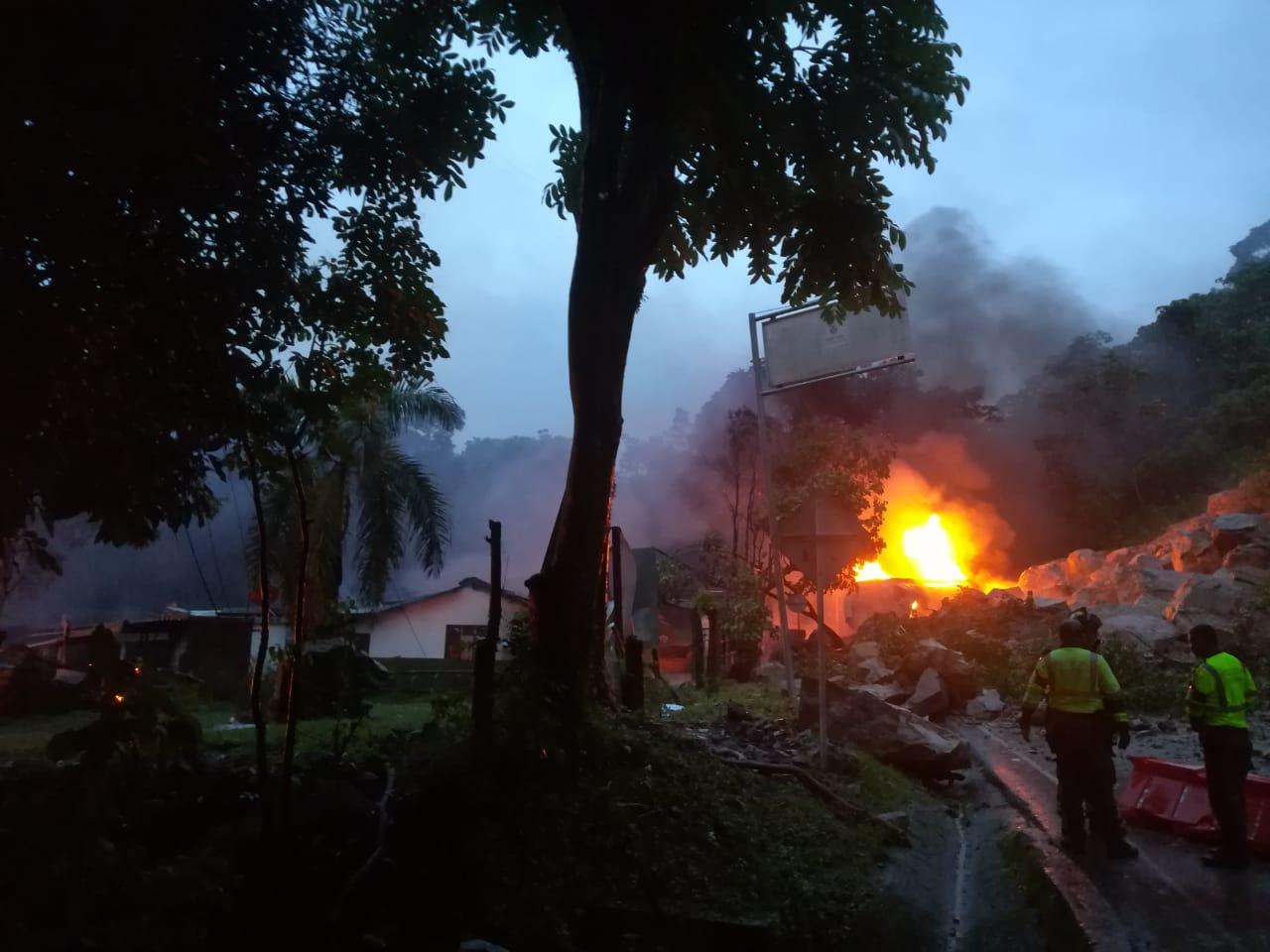 Cierre total por derrumbe en vía Yopal y norte de Casanare