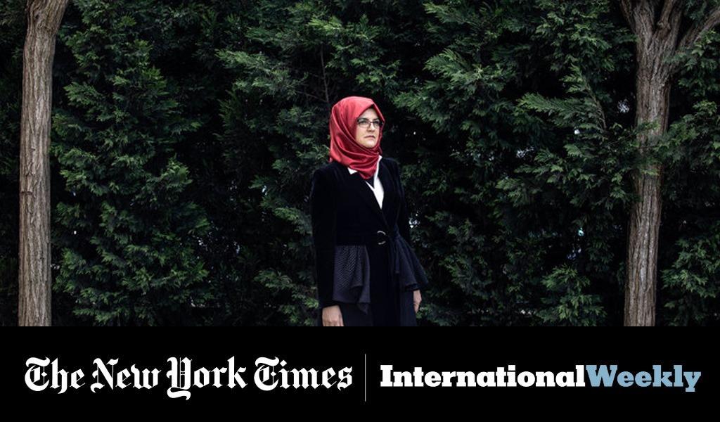 Cengiz, la última mujer que amó a Khashoggi