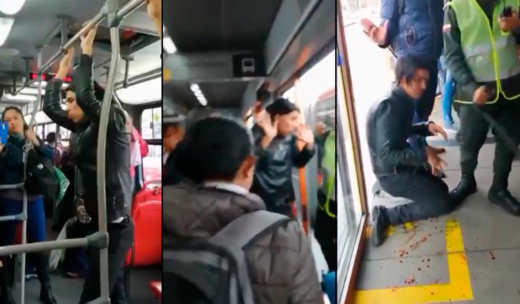 ¿Otro caso de abuso sexual en transporte público?