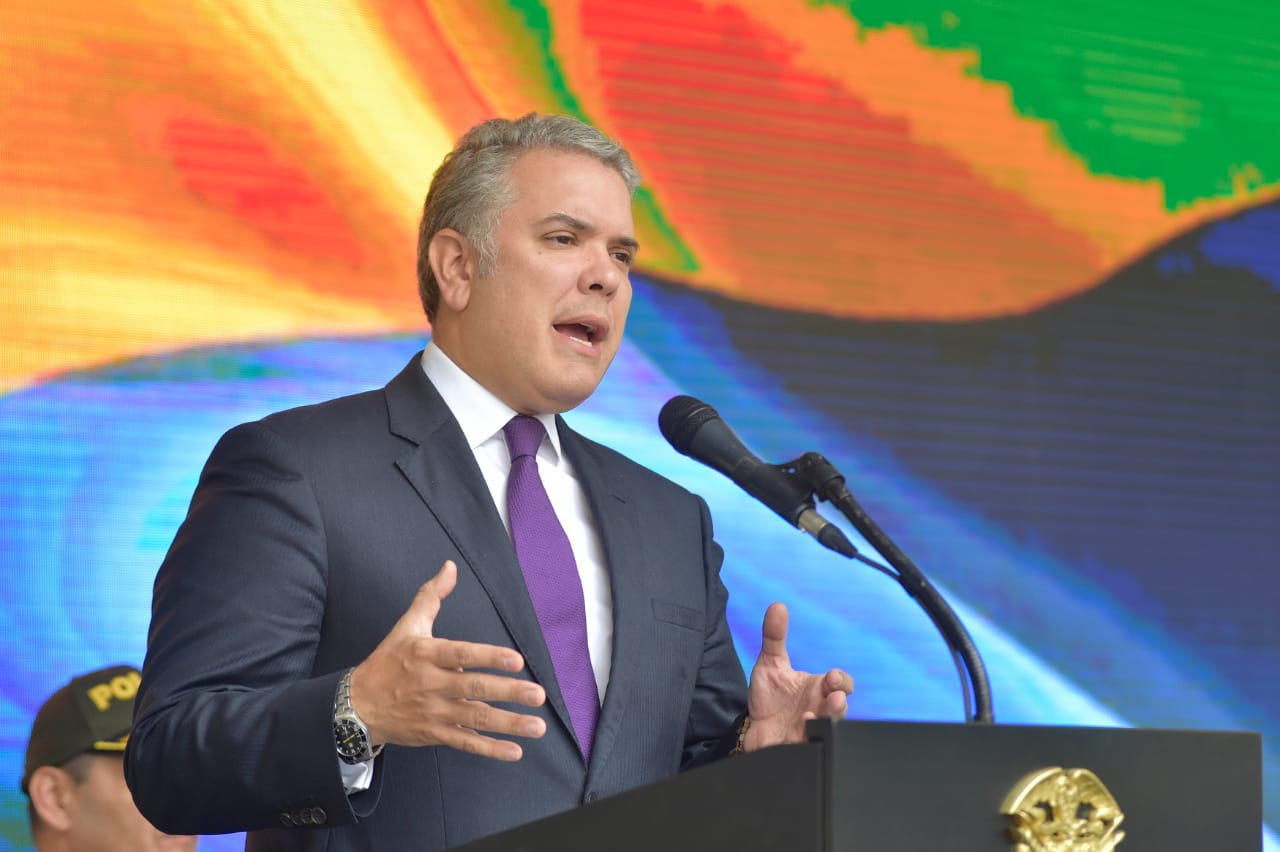 Redujo 8% la tasa de homicidios en Bogotá: Duque