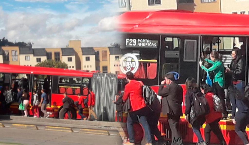 ¿Por qué se varó uno de los nuevos buses de Transmilenio?