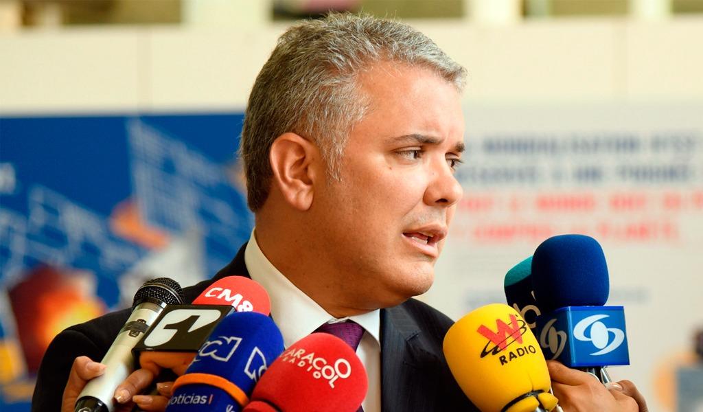 Duque llama a Consejo de Ministros desde Reino Unido - Foto Presidencia de la República- Kienyke.com