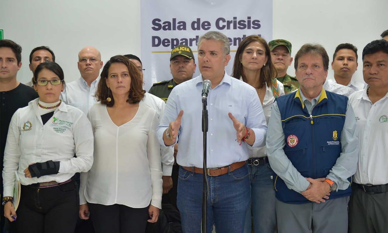 Gobierno promete ayudas a damnificados por lluvias